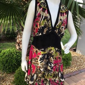 💐SEXY CLEAVAGE CAVALLI COCKTAIL 🍹 DRESS💐